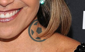 Failed Innovations in Brand Extension #1207: The Katie Couric Neck Tattoo