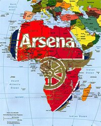 Arsenal swallows Africa.
