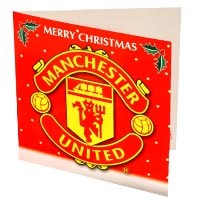 Manchester United Christmas card.