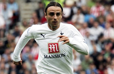 Berbatov with deep black eyes.