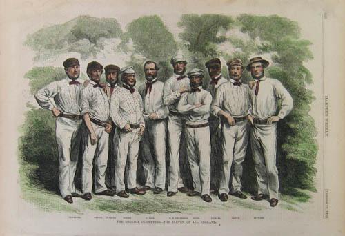 An old-fashioned cricket club