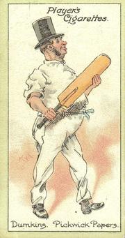 Dumkins trading card.