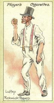 Luffey trading card.