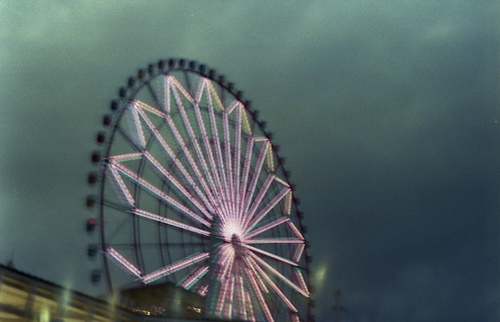 Lonely Ferris Wheel.