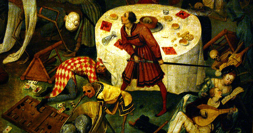 Detail from The Triumph of Death
