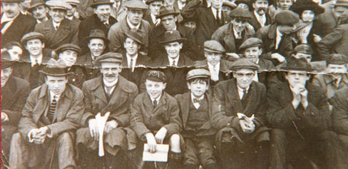 The crowd at a Leavesden Hospital match, c. 1930