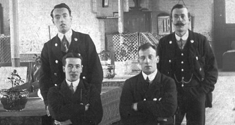 Leavesden staff, c. 1907
