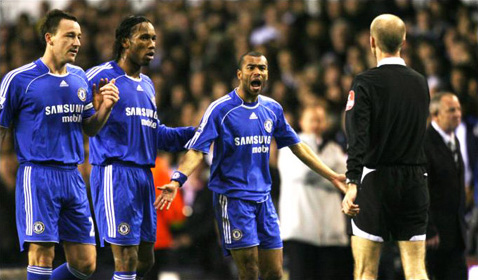 The rage of Ashley Cole.
