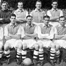 Arsenal, 1951 squad photo