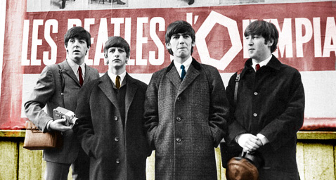 The Fab Four, being Fab