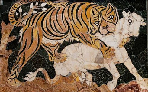 Roman tiger.