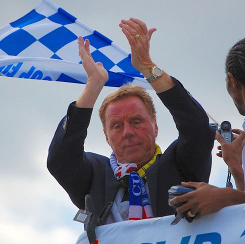 Redknapp on Parade