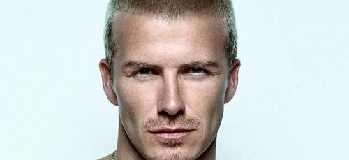 David Beckham smoldering.