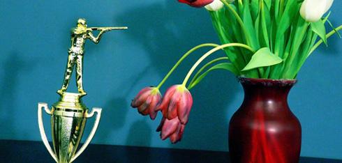 Trophy killing flowers.