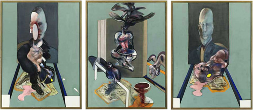 Triptych, by Francis Bacon