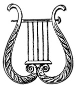 A lyre