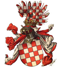 The crest of the old Croatia.