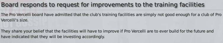 training-facilities