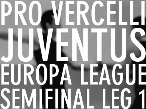 Watch Pro Vercelli take on Juventus