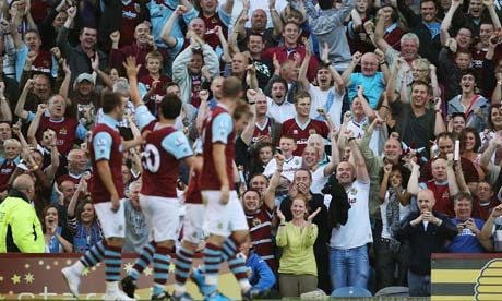 Watch the video of Burnley's goal