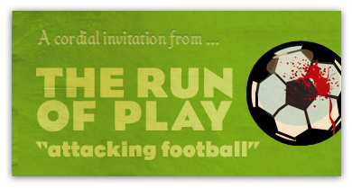 A cordial invitation from The Run of Play