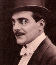 Max Linder in top hat and tails