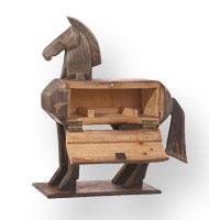 A toy Trojan horse