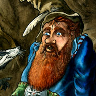 Tom Bombadil menaced by badgers
