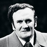 Don Revie striding forth