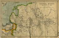 Russia campaign map, 1812