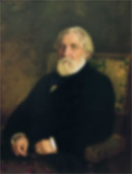 Turgenev, blurred