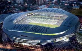 Tottenham Unveil New Images of Naming Rights Park
